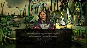 When Rivers Were Trails - Native American-themed Oregon Trail-type game, Free on Mac and PC