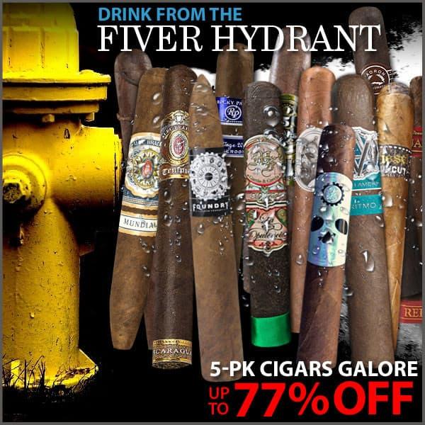 Field Supply - Five Pack Cigar Sale - Ends 2/22