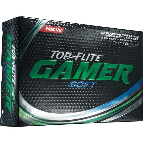 Golf Balls: 24-Count Top Flite Gamer or Gamer Soft $15 & More + Free Store Pickup Until 4/5/18 10PM EST Only!