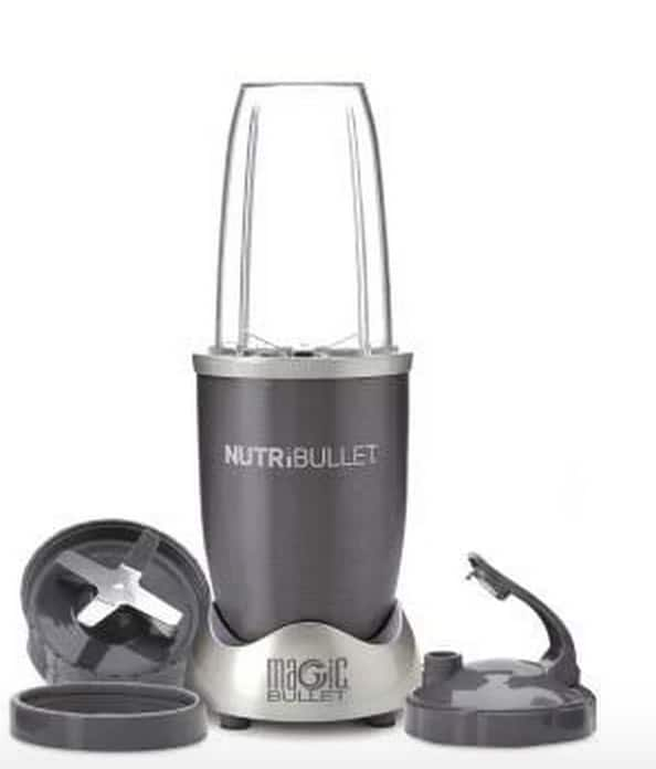 Nutribullet 600 W 6-Piece Blender Set $37.41 + tax with google express code 25EXTRA