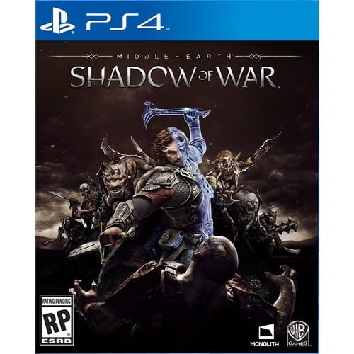 Middle-Earth: Shadow Of War - PlayStation 4 [Disc, Standard, PlayStation 4] $25