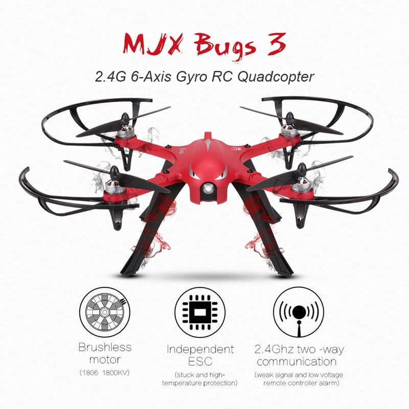 Mjx Bugs 3 brushless quad with camera mount $86.59