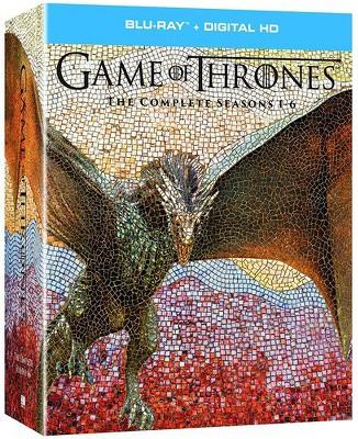 Game of Thrones: The Complete Seasons 1-6 (Blu-ray + Digital) $69.99