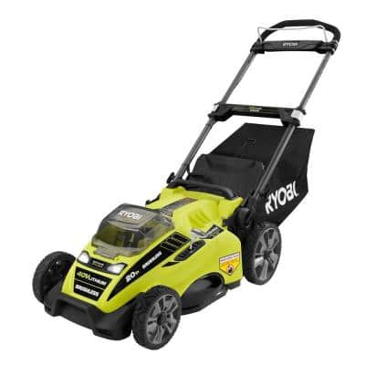 $299 - 20 in. 40-Volt Brushless Lithium-Ion Cordless Electric Lawn Mower with 5.0 Ah Battery