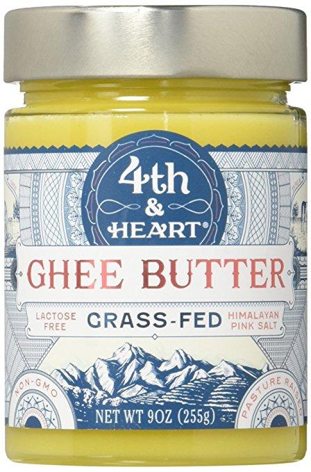 Himalayan Pink Salt Grass-Fed Ghee Butter 9 oz. $8.02 @ Amazon