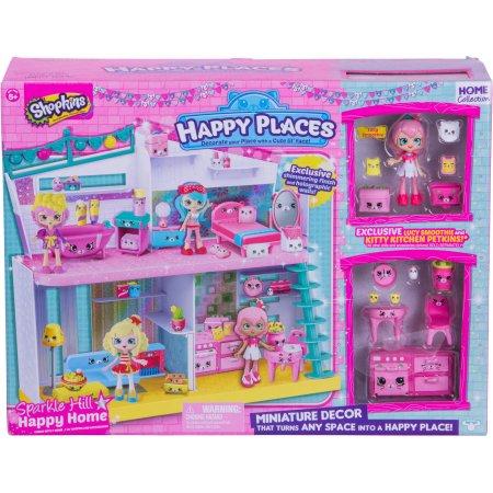 Shopkins Happy Places Sparkle Hill Happy Home $15 @ Walmart