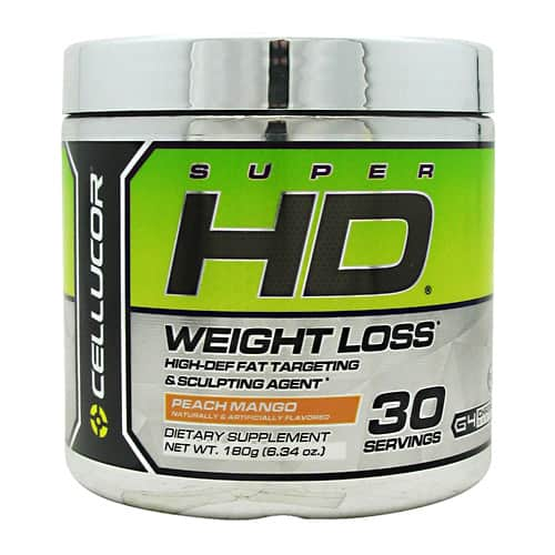 2 Tubs Cellucor SuperHD (Peach Mango - 30 Servings) $13.99 @ SupplementHunt + $5.99 Shipping