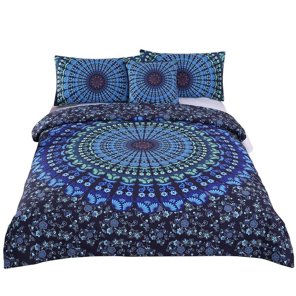 Sleepwish 4 Piece Bohemian Duvet Cover Set in 4 Colors 30% OFF (Twin - Cal. King) $25.89 @ Amazon
