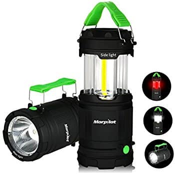 LED Camping Lantern Outdoor Portable 300 Lumens COB Light 7 Modes $4.99 @ Amazon