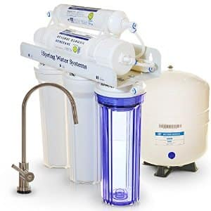 iSpring RCC7 - 5 Stage 75 GPD Reverse Osmosis Water Filter w/ Transparent 1st Stage & Designer Faucet for $178 @ Amazon