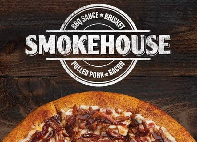 Little Caesars New Smokehouse Pizza for Only $4