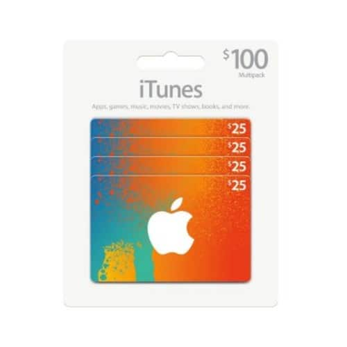 Sam's Club $100 App Store & iTunes Gift Cards Multipack $85