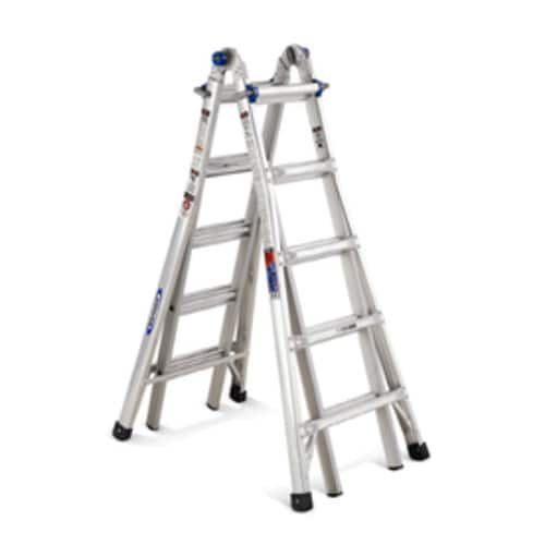 Werner 22-ft Aluminum 300-lb Telescoping Type Ia Multi-Position Ladder $133+Tax