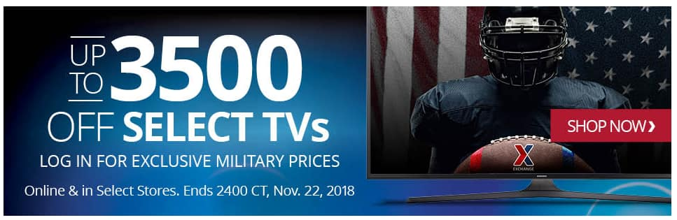 """AAFES/Military: TV Sale Sony 55"""" X900F $800; 65"""" $1200  +More $799"""