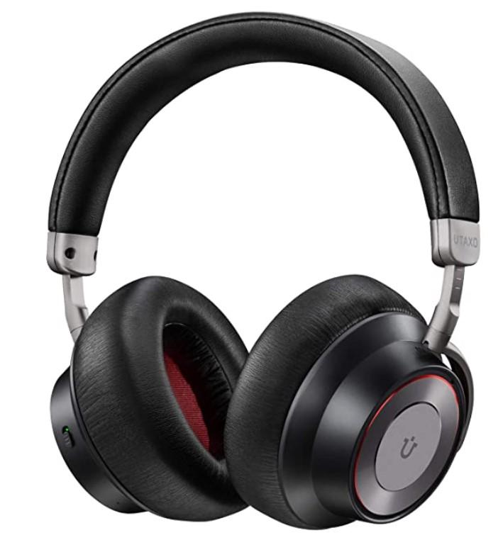 Noise Cancelling Headphones, Bluetooth Headphones with Mic Wireless Headphones Over Ear Hi-Fi Sound/Deep Bass $39.99