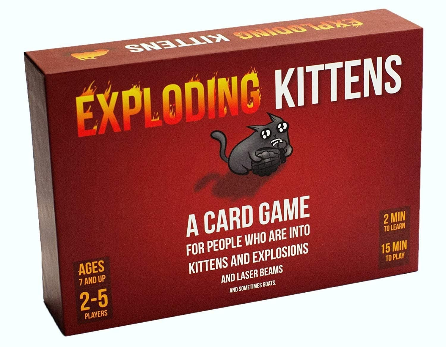 Exploding Kittens Card Game at 50% off on Amazon $9.99