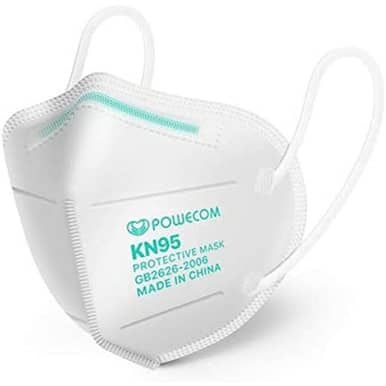 Powecom KN95 Face Mask - FDA Authorized   Buy Online   In Stock $10.62
