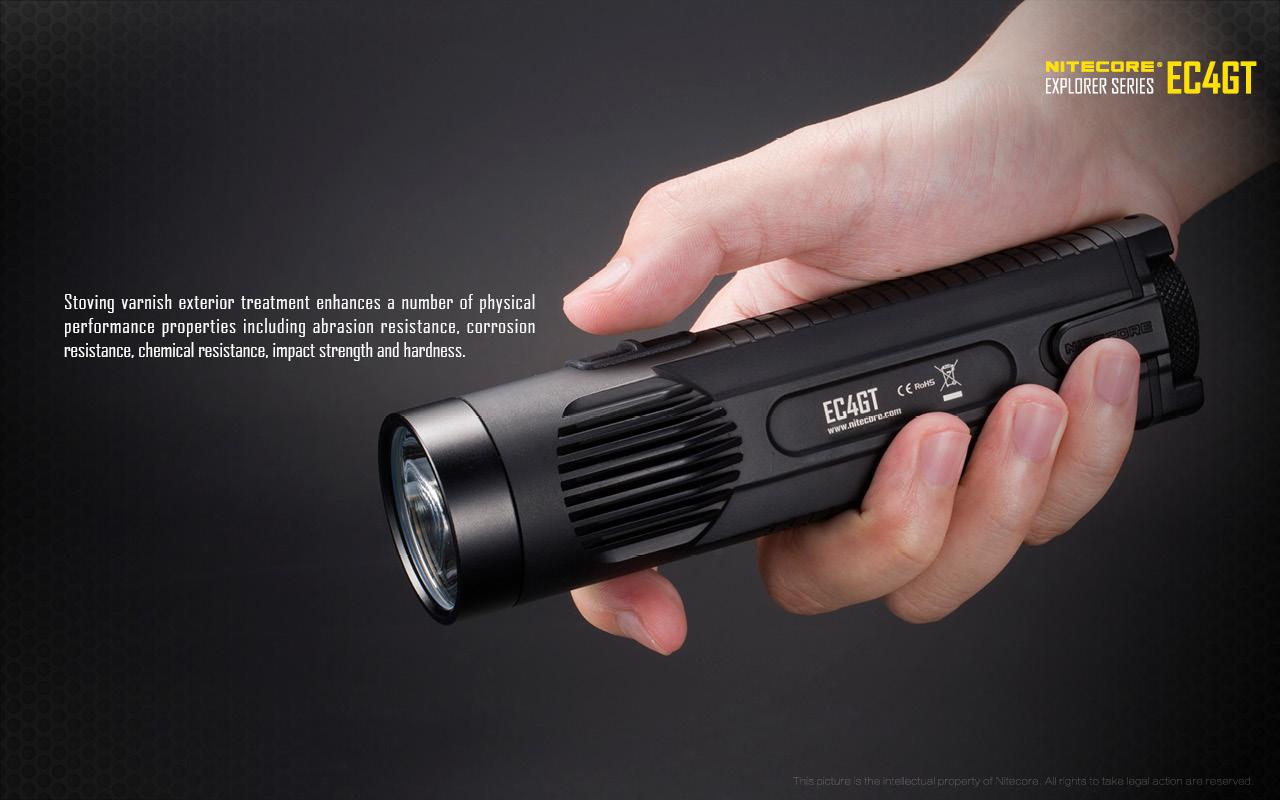 Nitecore EC4GT XP-L HI 1000 Lumens Flashlight $35