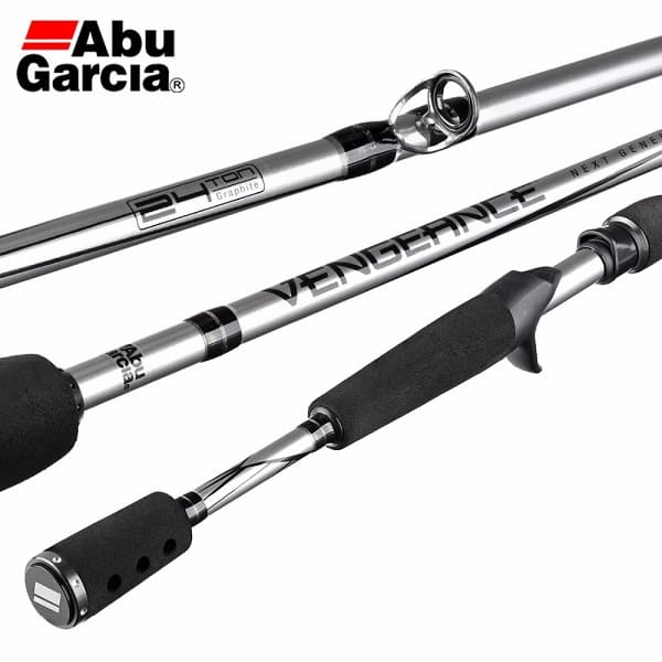 Abu garcia vengeance fishing rod $34.99