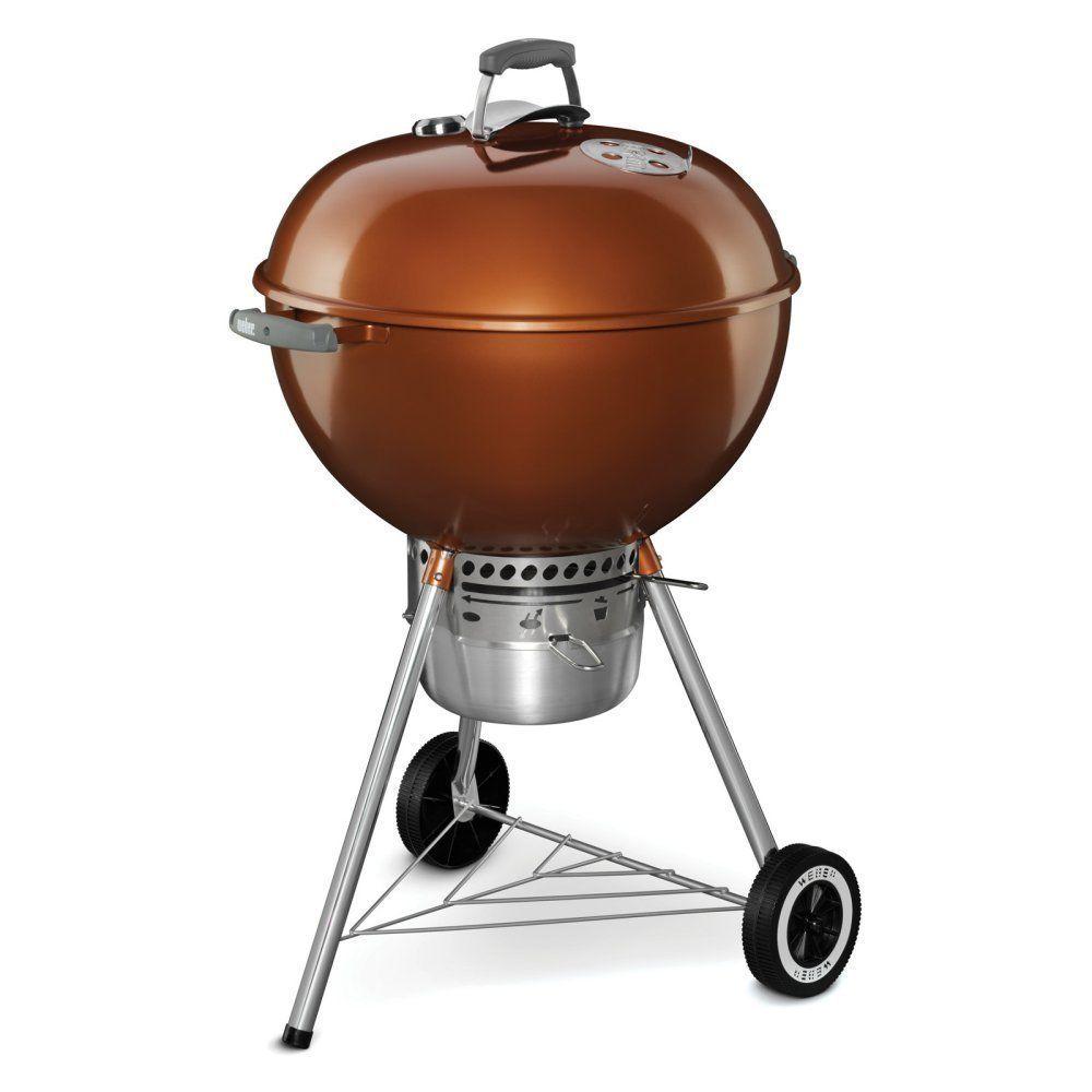 Weber Original Kettle Premium Charcoal Grill (Copper) $127