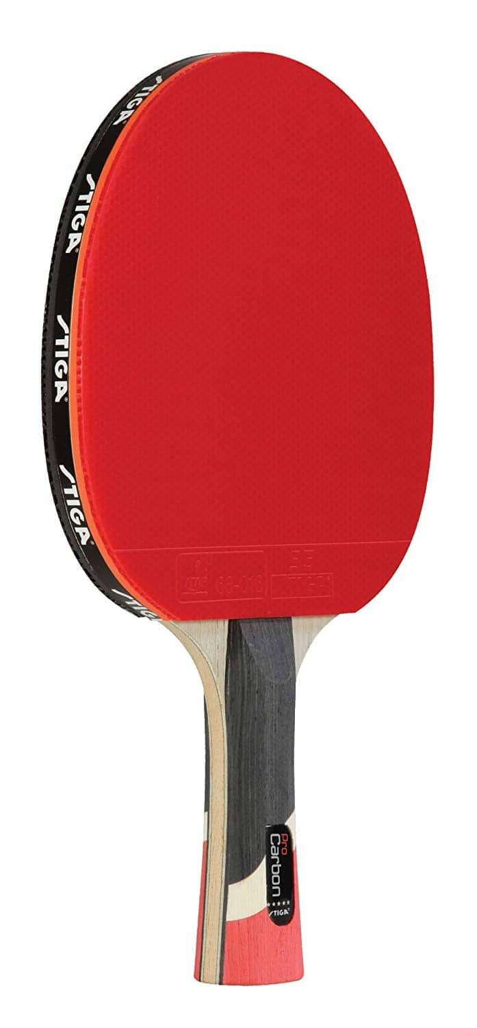 STIGA Pro Carbon Performance-Level Table Tennis Racket with Carbon Technology for Tournament Play