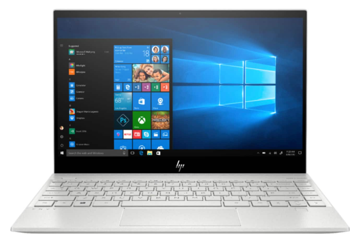 "HP - ENVY 13.3"" 4K Ultra HD Touch-Screen Laptop - Intel Core i7 - 8GB Memory - 512GB SSD $699.99"
