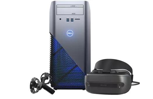 Dell Inspiron Gaming Desktop + Lenovo Explorer Windows Mixed Reality Headset Bundle $648