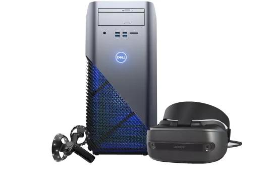 Dell Inspiron Gaming Desktop + HP Windows Mixed Reality Headset Bundle $648