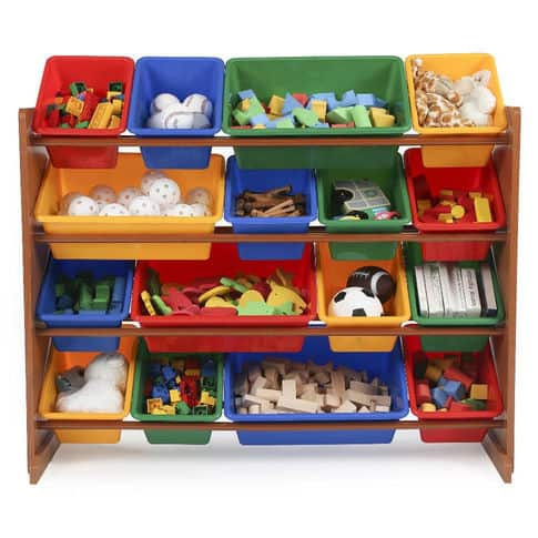 Tot Tutors Toy Storage Organizer with 16 Bins - TRU $29.99 with $5 credit in-store pickup only