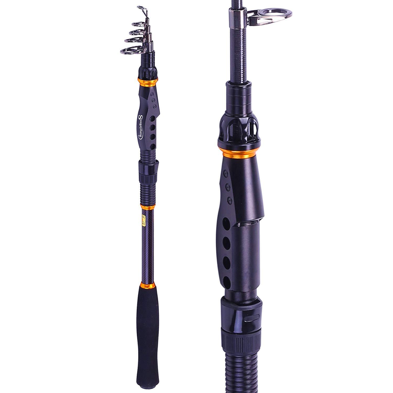 Sougayilang Fishing Rod Telescopic 2.7m/8.8ft $23