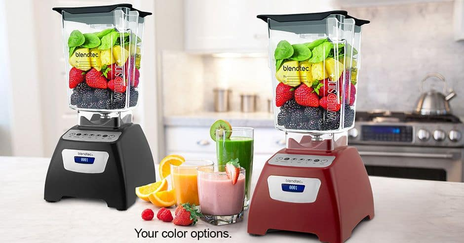 Blendtec Total Blender Classic 570 with WildSide Jar  $184
