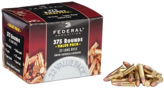 AMMO:  .22LR Bulk Pack of Federal, 375 Rounds for $10.39 +shipping