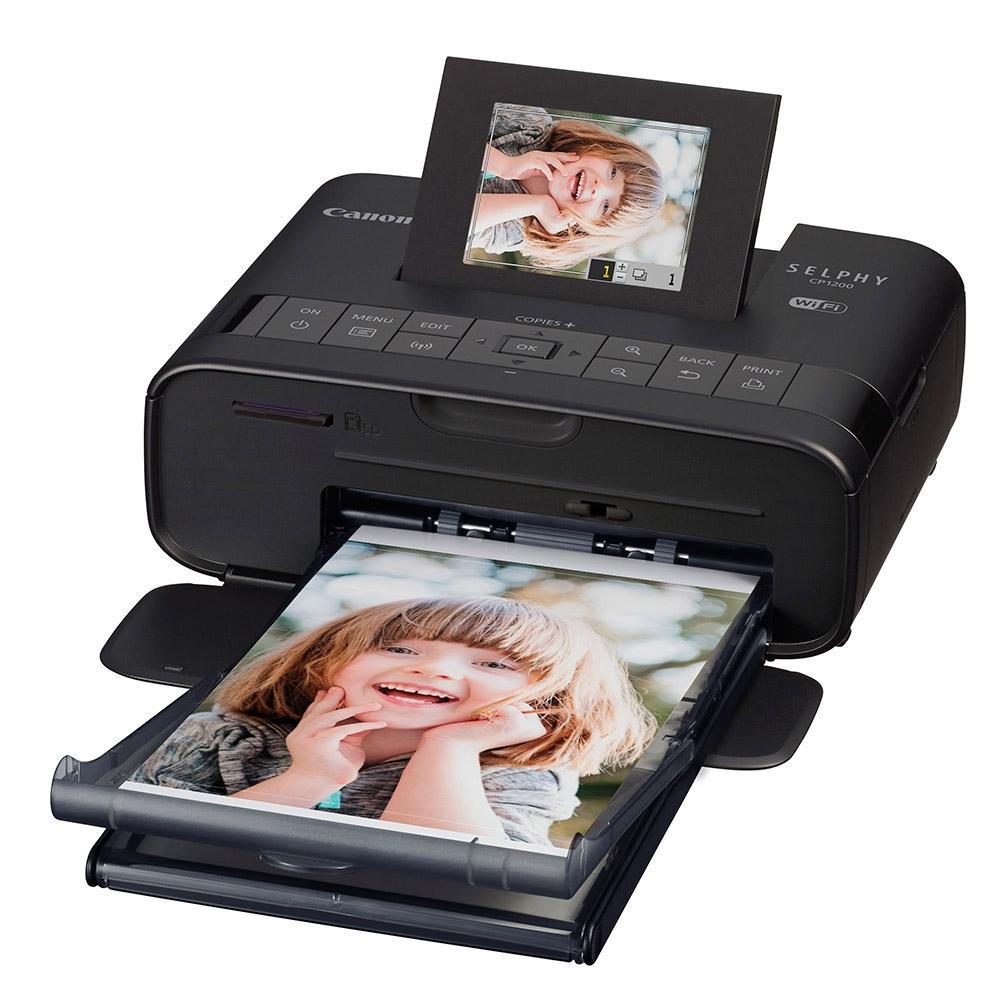 Canon Selphy CP1200 Black $49.99 at Micro Center!