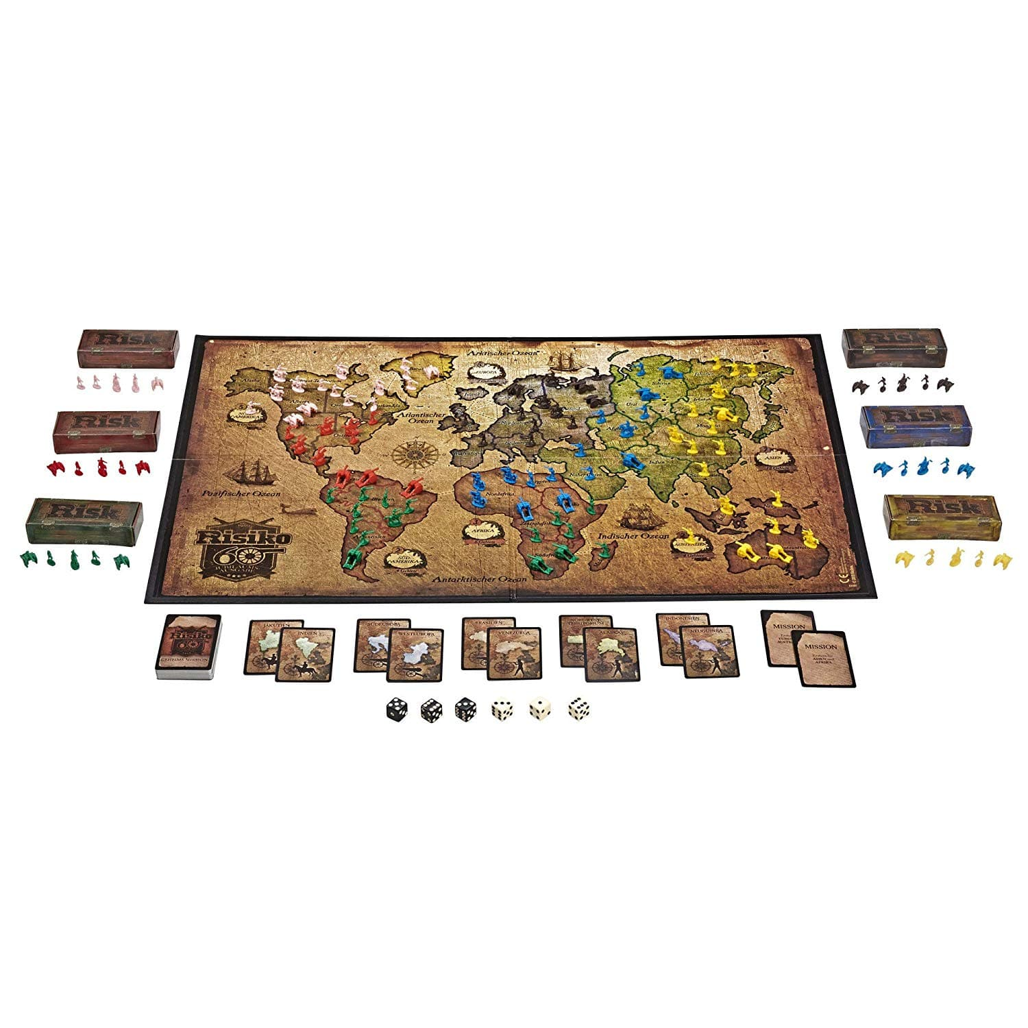 Classic risk board game $14, 60th anniversary version $25 at amazon today only