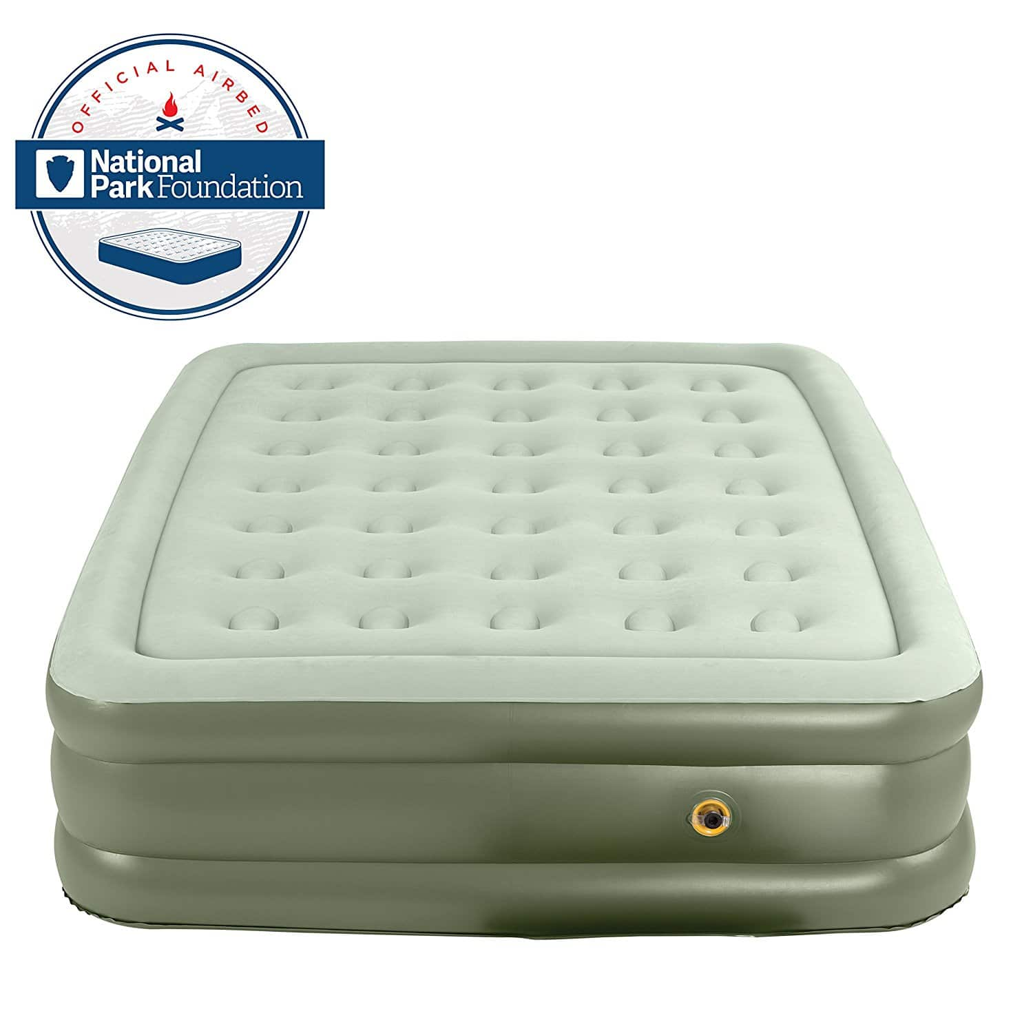 Coleman Durable Supportrest Double High Inflatable Mattress Airbed - Twin $33.43 - Amazon