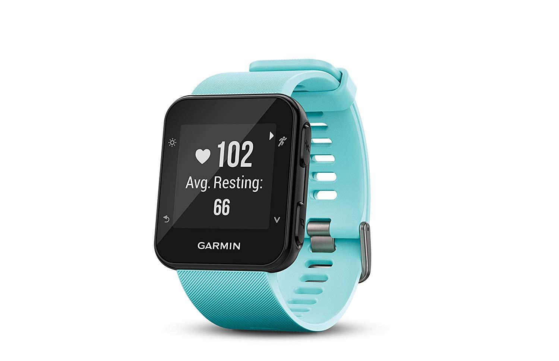 Garmin Forerunner 35 (Frost Blue) GPS running watch $99