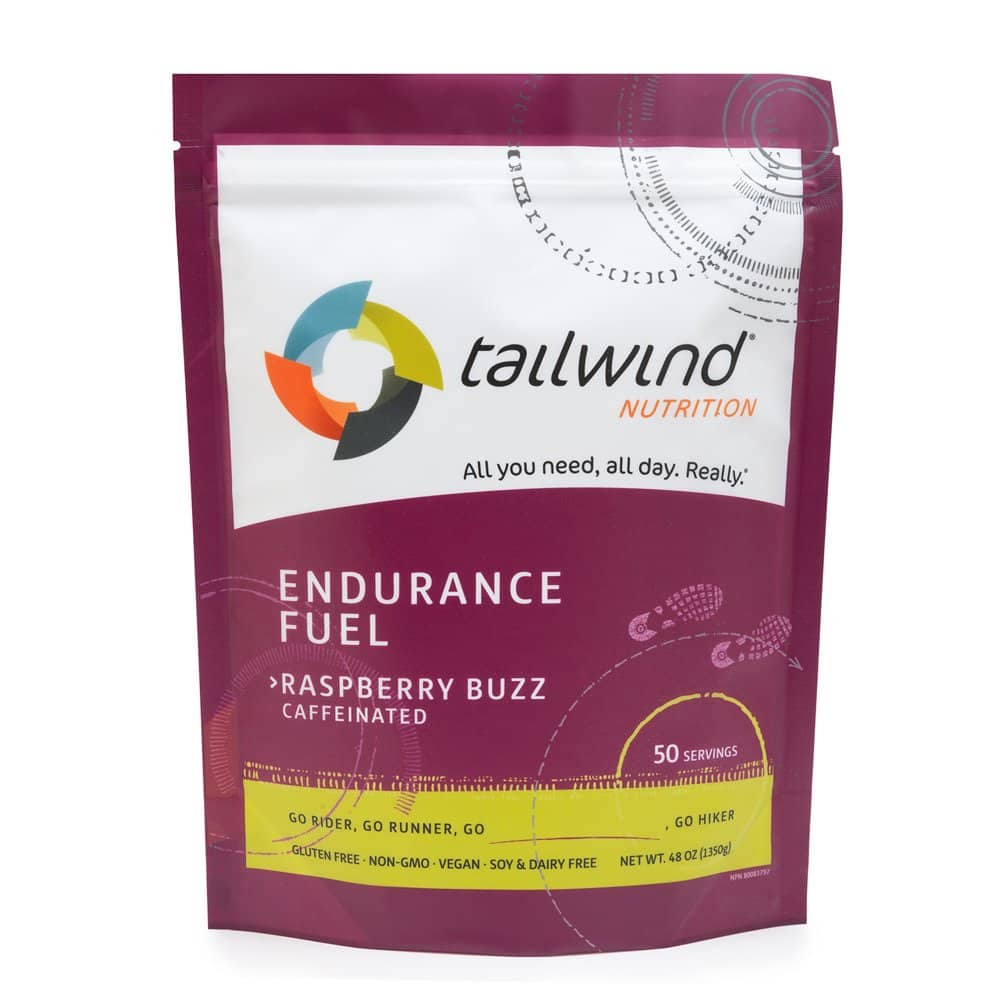 Tailwind Nutrition Caffeinated Endurance Fuel Raspberry Buzz 50 Serving [Raspberry Buzz], S&S $29.24