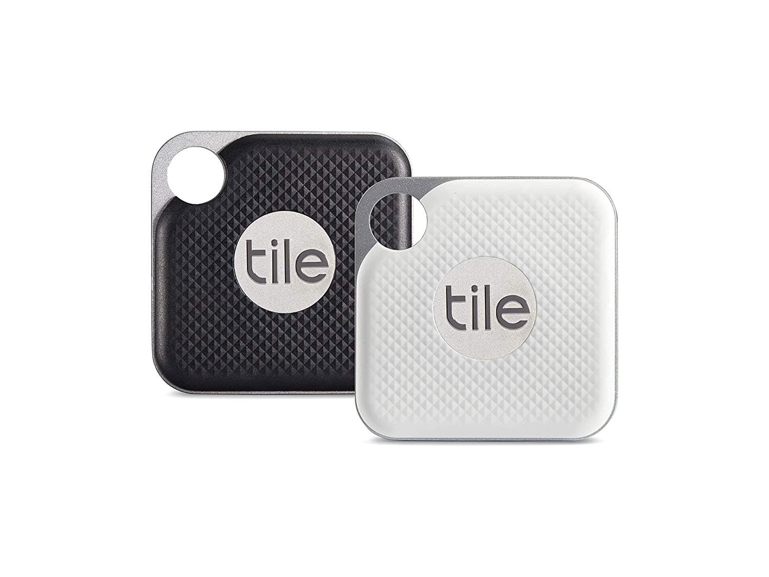 Tile Pro with Replaceable Battery - 2 pack Black/White $38.98