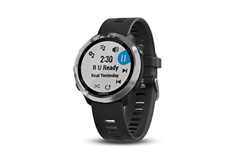 Garmin Forerunner 645 Music, GPS Running Watch with Pay Contactless Payments, Wrist-Based Heart Rate and Music, Black [With Music] $269.99