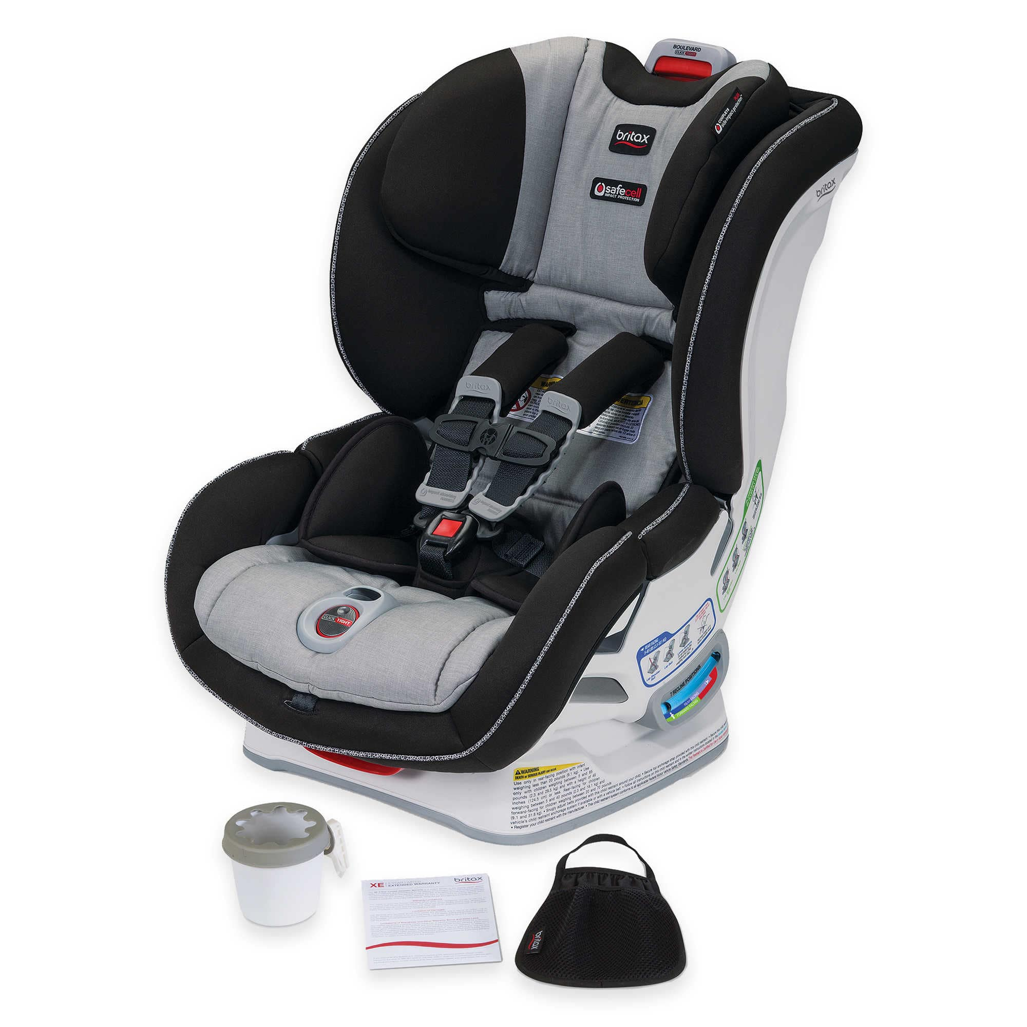 BRITAX Boulevard® ClickTight® XE Series Convertible Car Seat in ...