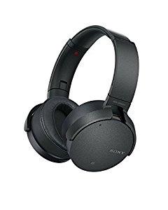Sony XB950N1 Extra Bass Wireless Noise Canceling Headphones, Black [Black] $124.99