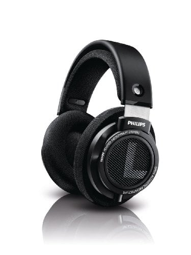 Philips SHP9500 HiFi Precision Stereo Over-Ear Headphones (Black) $74.99