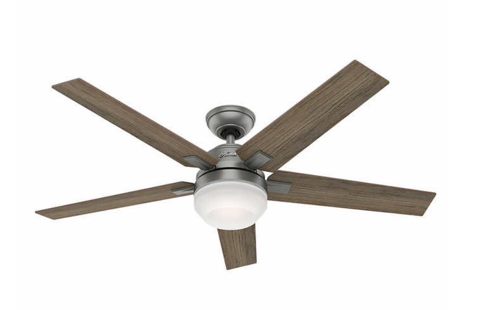 "Costco - Hunter Apex 54"" LED Reversible Blade Ceiling Fan $79.99 FS"