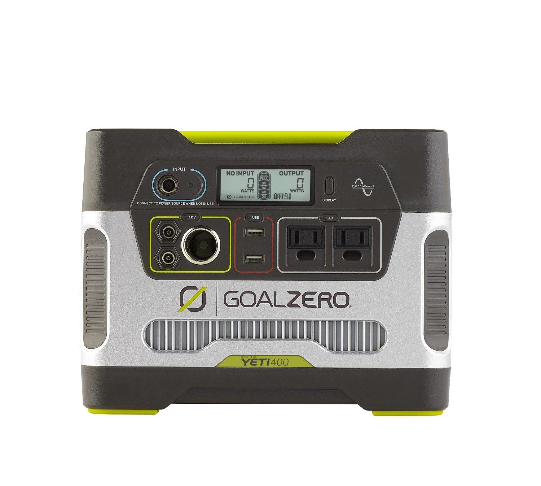Goal Zero 23000 Yeti 400 Solar Generator - $300 + Free Shipping @ Amazon