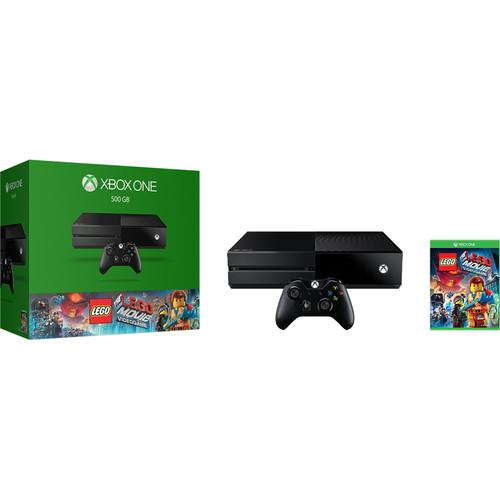 Microsoft Xbox One + The LEGO Movie + Thrustmaster Ferrari 458 Racing Wheel Bundle - $280 + FS @ BHPhoto