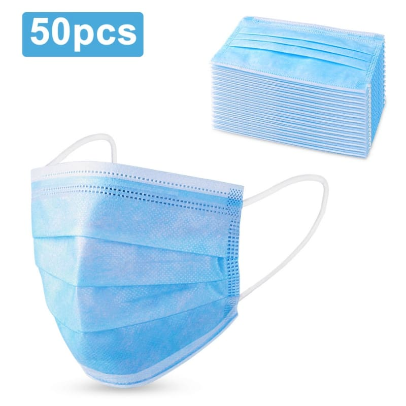 50-Pack 3 Layer Non-Woven Breathable Face Masks $15.99 + FS Sold & Shipped by LINDA BREEDEN, LLC on Walmart