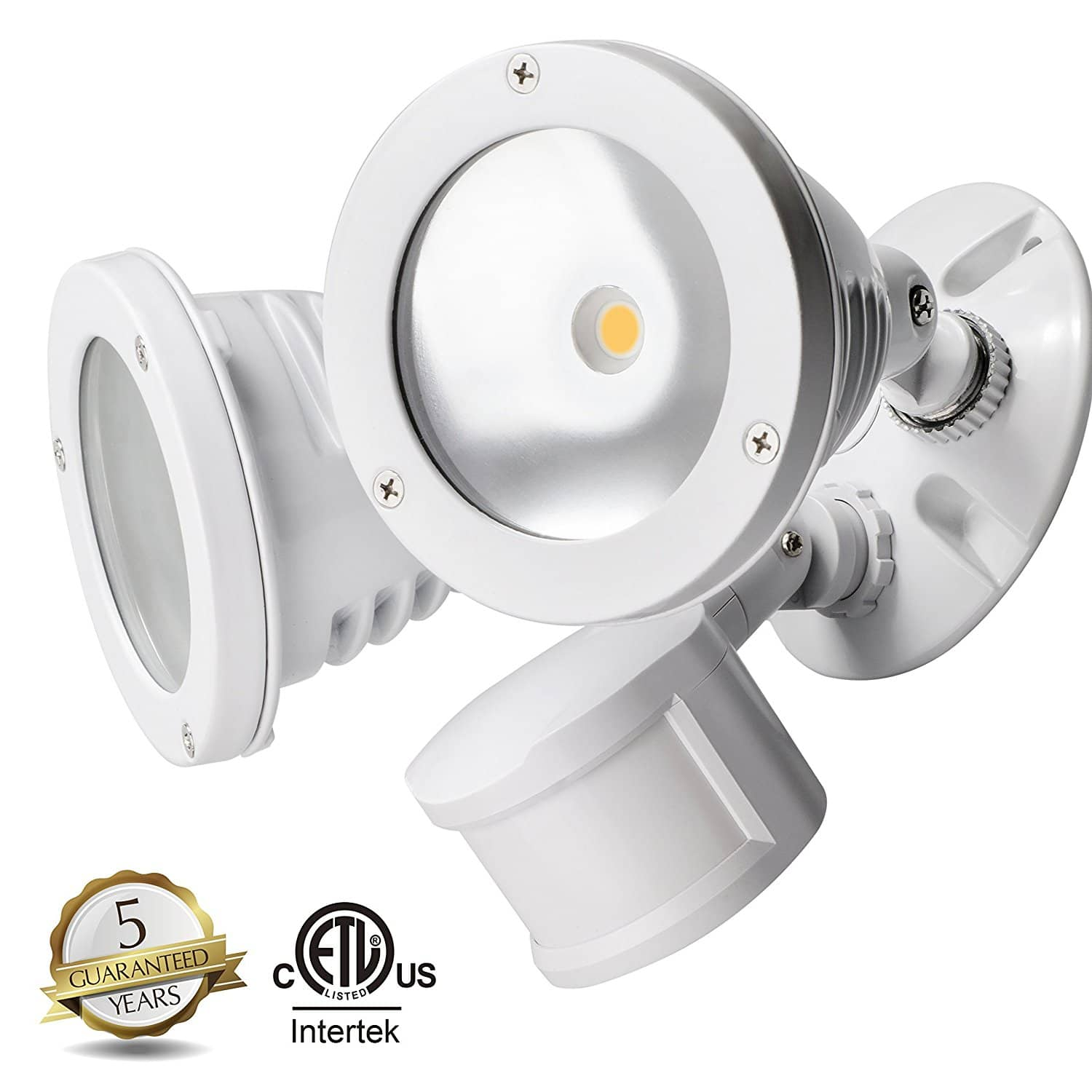 TOPELE LED Security Motion Sensor Flood Light, Super Bright 2200LM Aluminum Outdoor Floodlight, 24W (150W Equivalent),4000k daylight, Waterproof IP65 $41.29