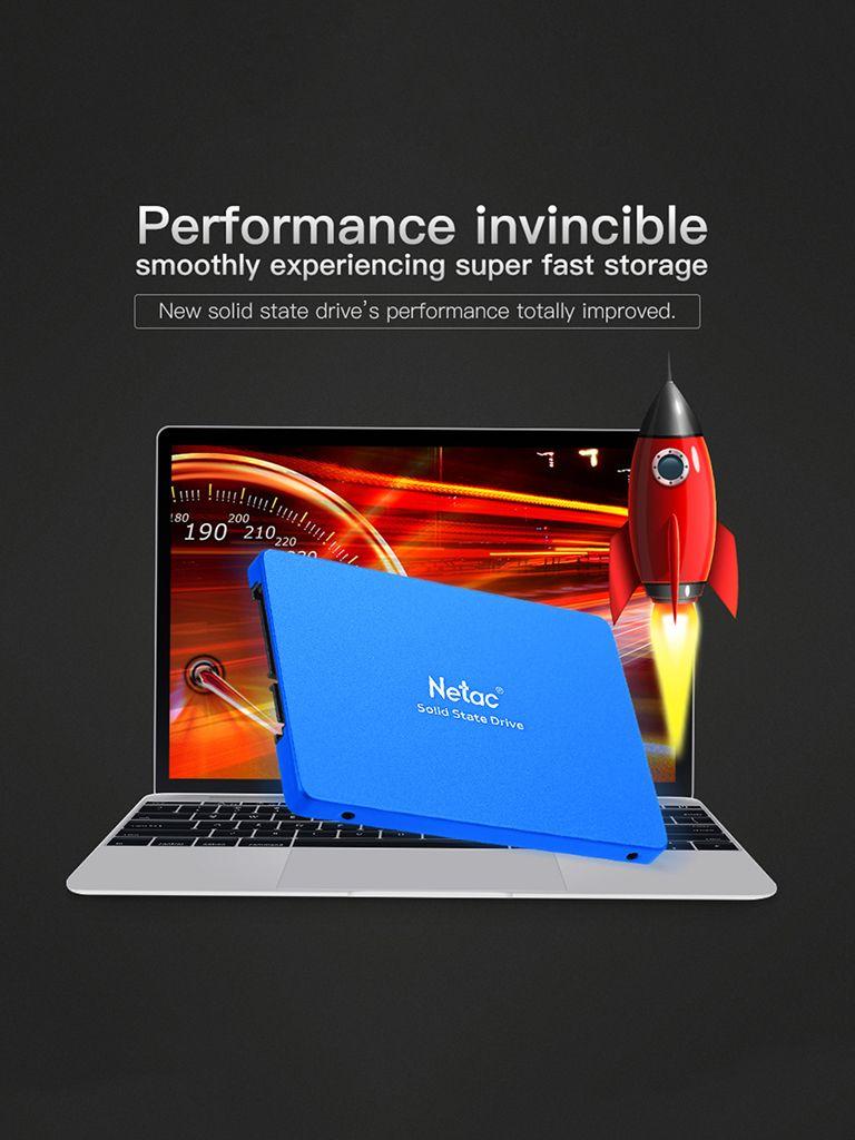Netac N600S 430GB 2.5 Inch Internal SSD 500MB/s Read Solid State Drive $65.99