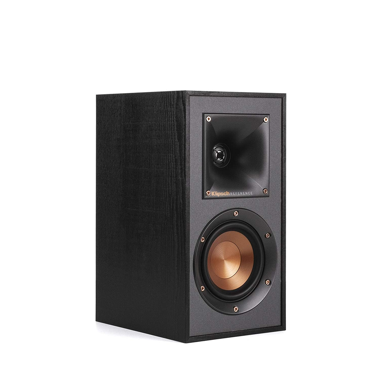 Klipsch R-41M Powerful detailed Bookshelf Home Speaker Set of 2 Black $99