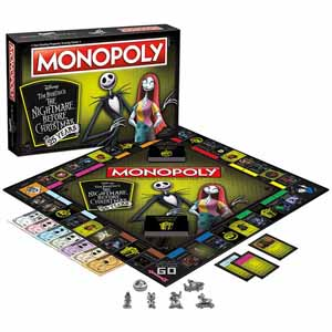 Monopoly: The Nightmare Before Christmas - 25 Year Edition $24.98